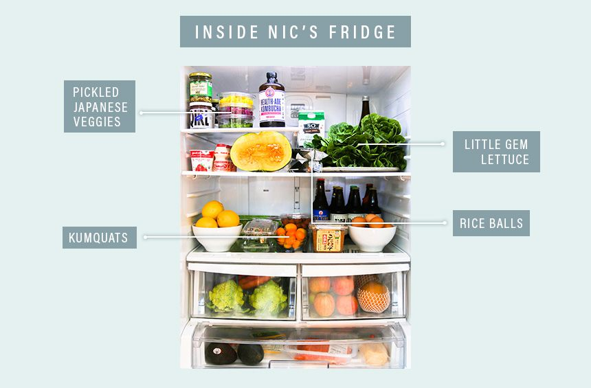 Nic Jammet's fridge