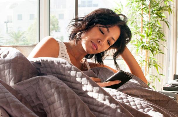 Are weighted blankets the answer to better sleep and less anxiety?