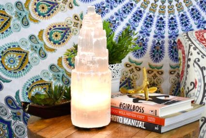 Is energy-healing selenite about to become the It–salt lamp for healthy homes?