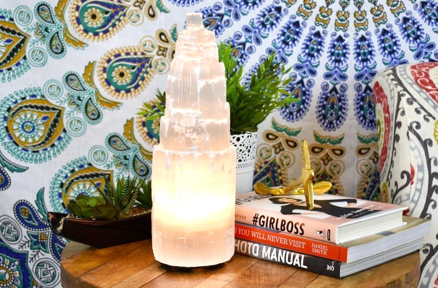 Thumbnail for Is energy-healing selenite about to become the It–salt lamp for healthy homes?