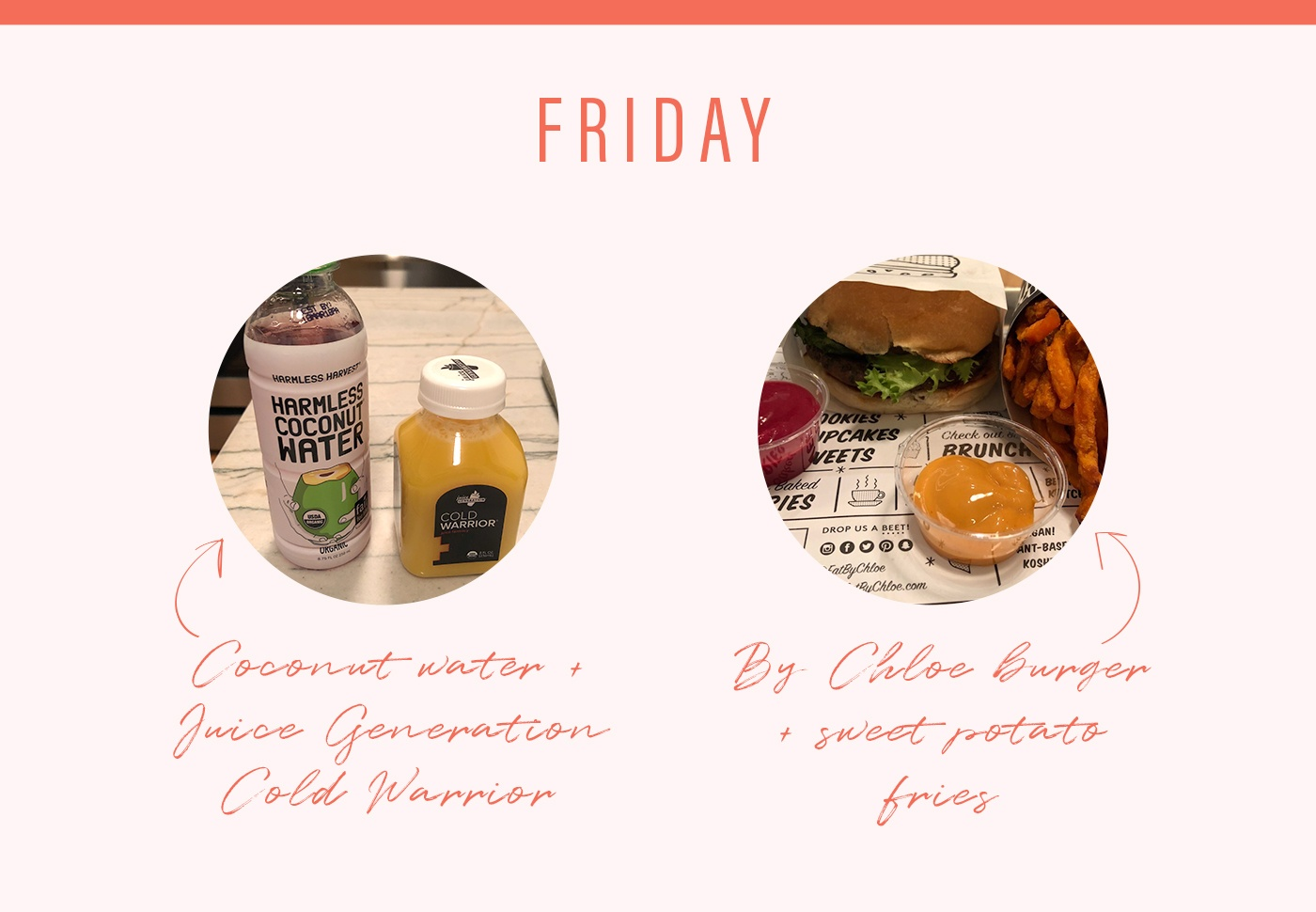 soulcycle food diary friday