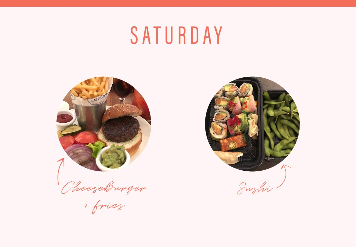 soulcycle food diary saturday