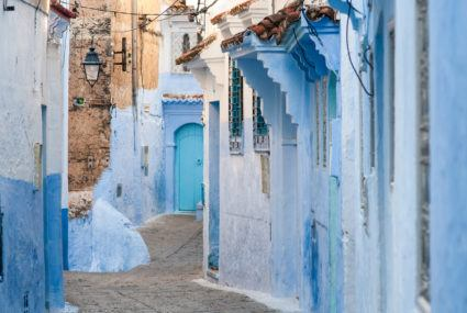 Morocco's serenity-inspiring aqua-hued city will cure your winter blues