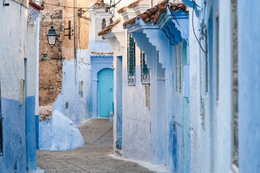 The best Pinterest photos Morocco's blue city