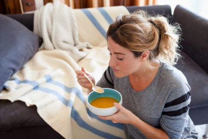 Chicken noodle soup is *scientifically* healing for your flu-ridden soul