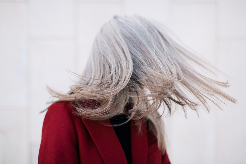 Thumbnail for Young women are embracing their gray hair like never before—and I, for one, am rooting for it