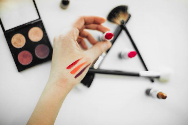 How to sample lipstick without swiping loads of bacteria onto your face