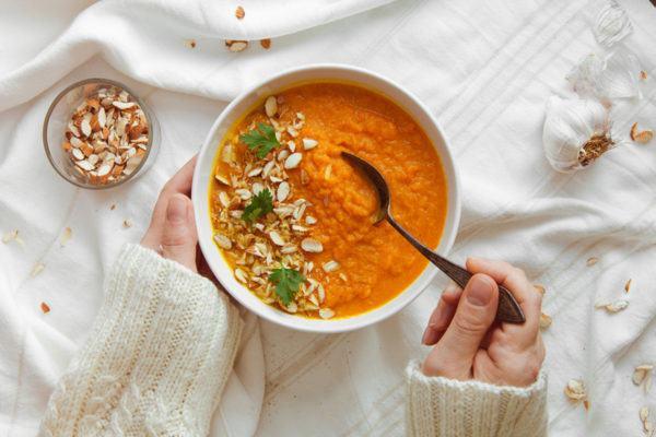 pejibaye soup