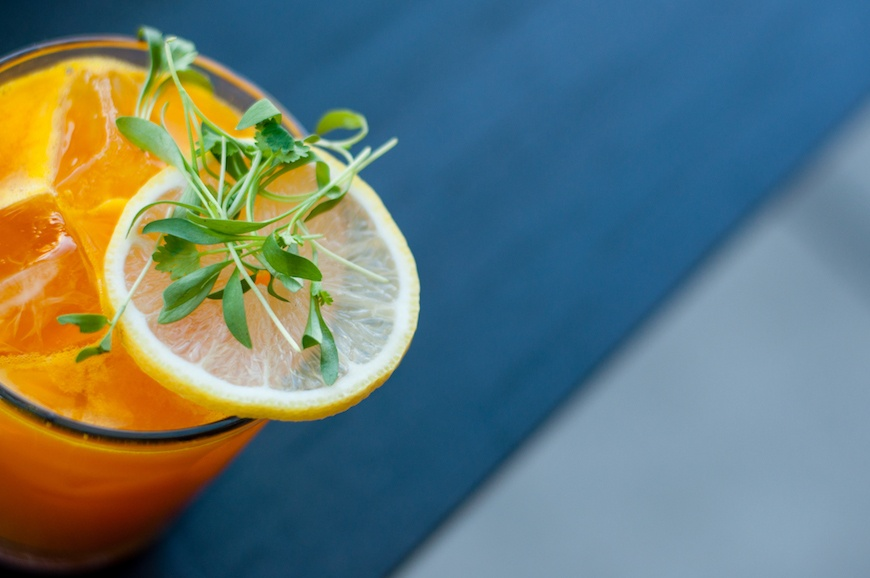 Thumbnail for Serve up a Savory Sip for Happy Hour With This Turmeric Carrot Cocktail Recipe