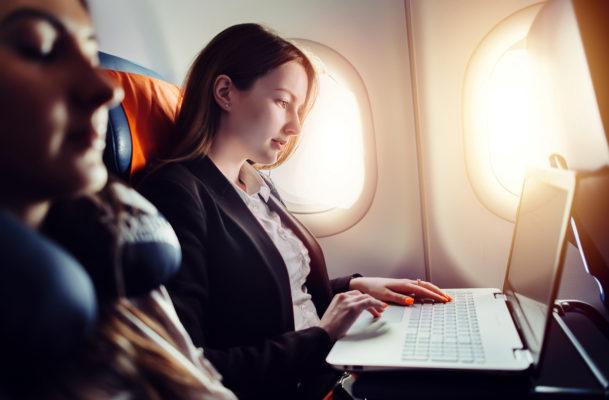 Have a healthy relationship with your airplane seatmate, using this data