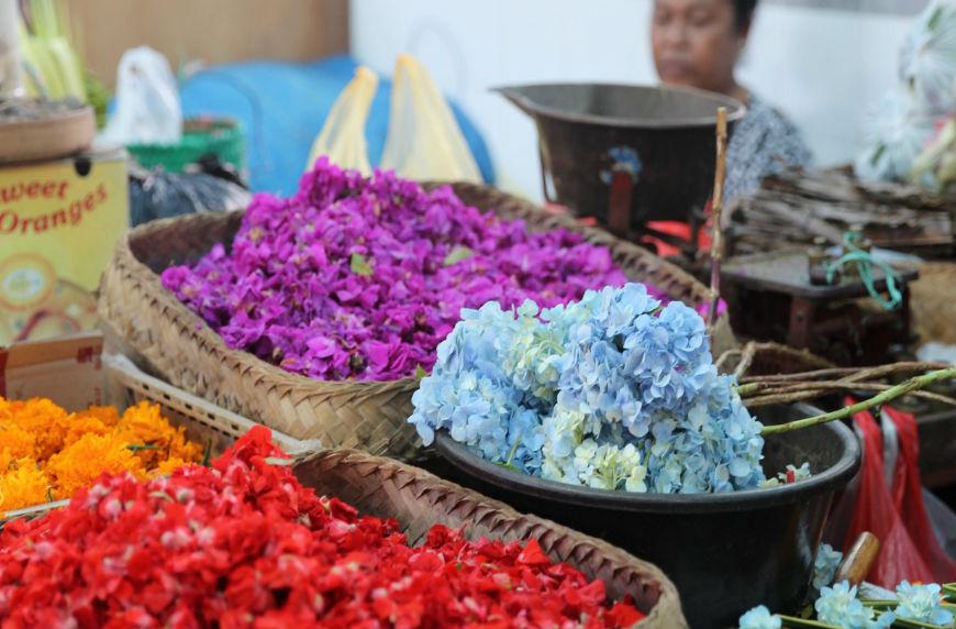 A market in Bali