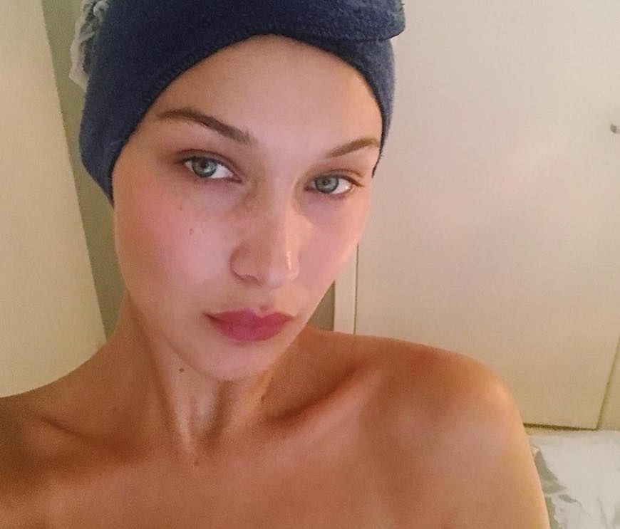 bella hadid social anxiety