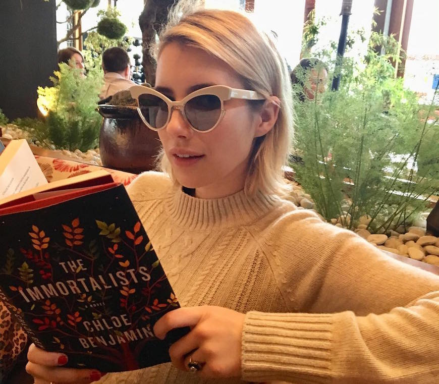 Emma Roberts Uses Reading As Self Care Wellgood