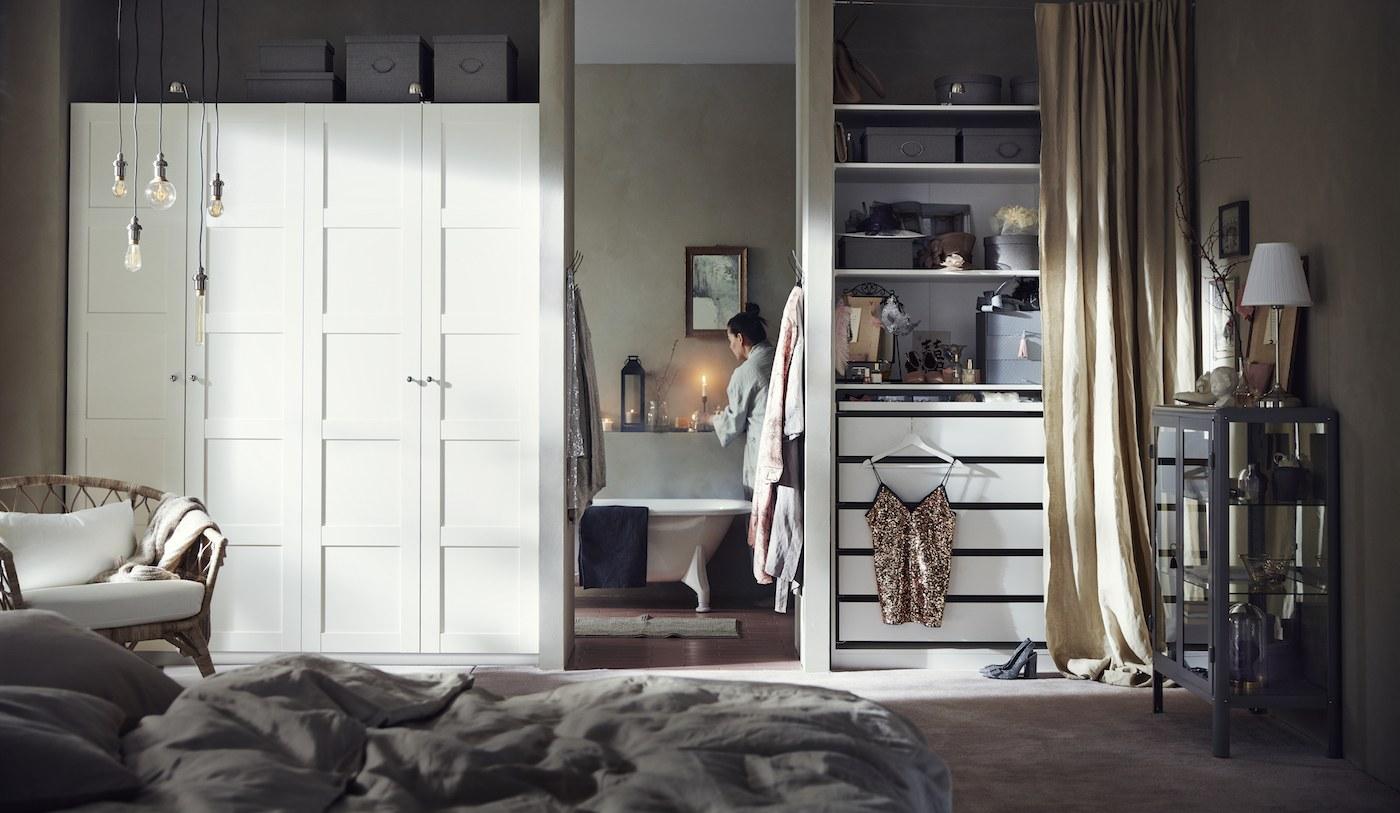 ikea closet organization