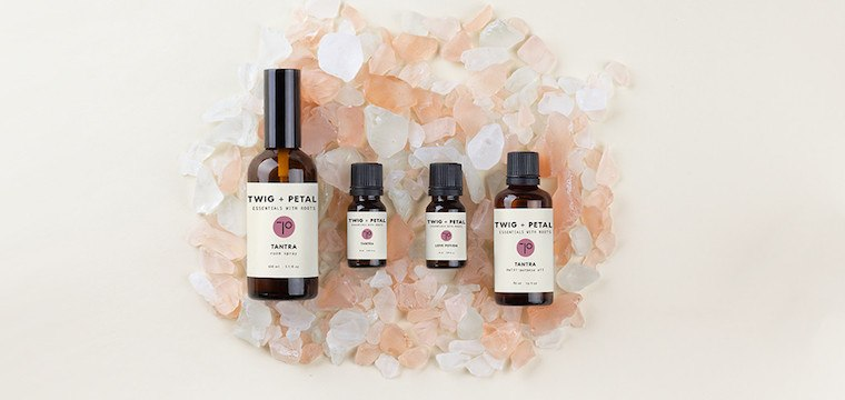 Essential oil blend for Valentine's Day