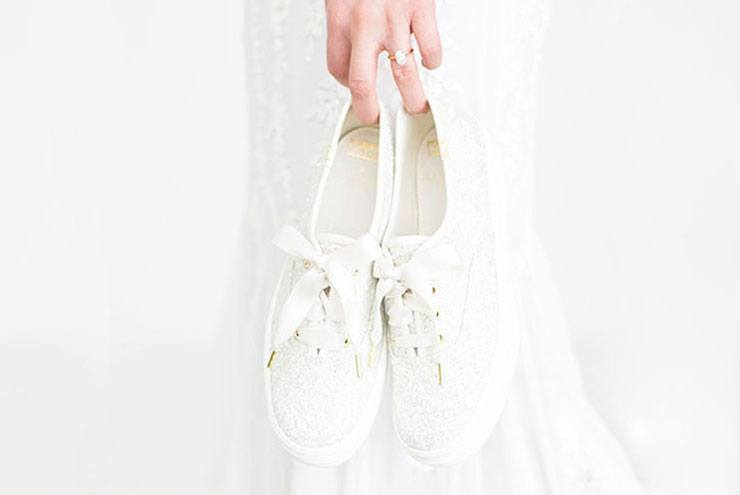 Thumbnail for Since wedding sneakers are now a thing, it's a comfy time to be a bride
