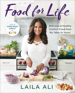 Laila Ali Food For Life cookbook