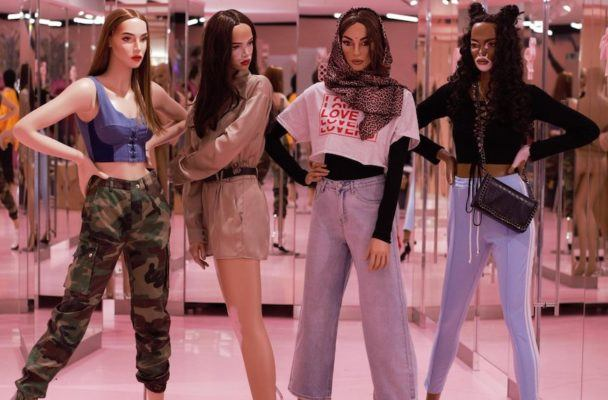Missguided is using diverse, realistic mannequins to promote body positivity