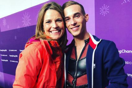 The Olympic sport Savannah Guthrie played to exercise in PyeongChang