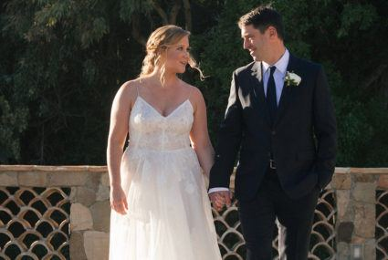 Amy Schumer just married Chris Fischer in Malibu