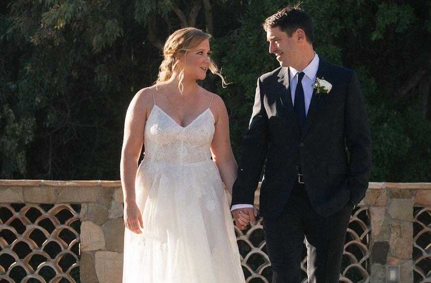 Amy Schumer just married Chris Fischer in Malibu