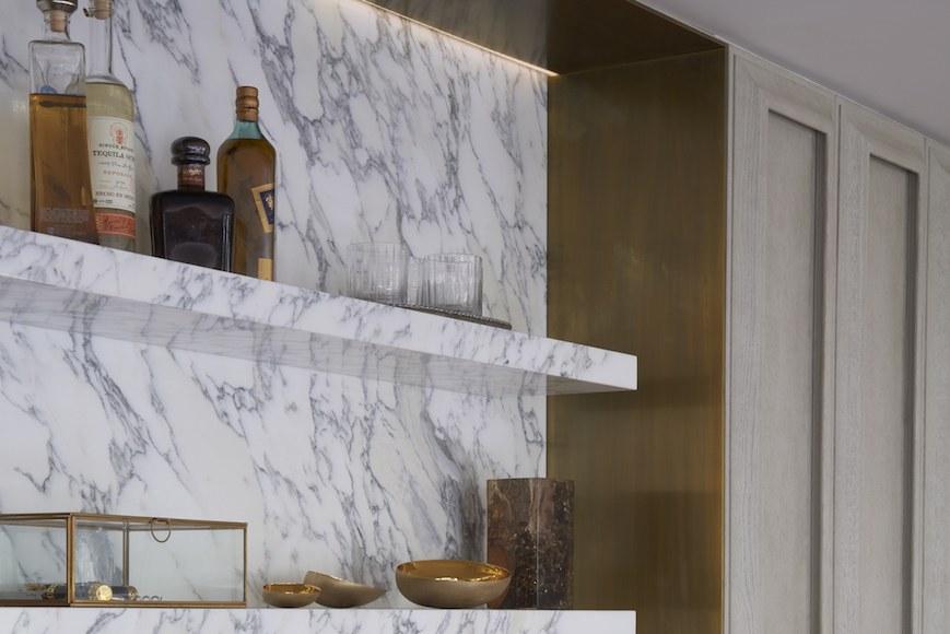 Serene lighting for interior design
