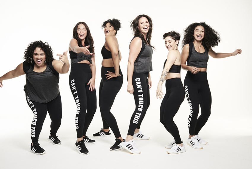 How Model Candice Huffine Is Making Fitness—and Fashion—More Inclusive, One Pair of Leggings at a Time