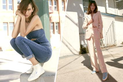 Alexa Chung's sneaker collaboration with Superga