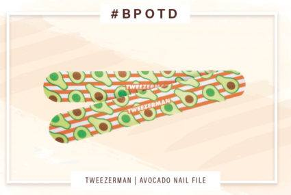 #BPOTD: This avocado oil-infused nail file nixes chalky dryness