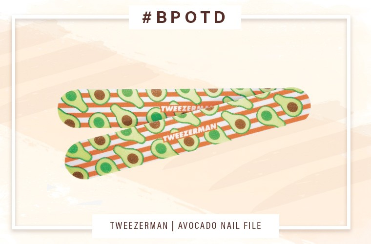 Thumbnail for #BPOTD: This avocado oil-infused nail file nixes chalky dryness