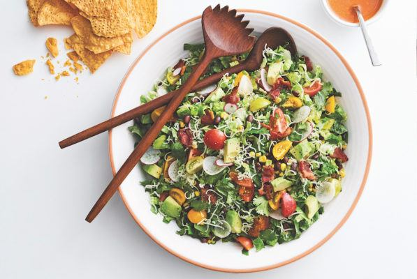 This salad is a Tex-Mex lover's dream come true