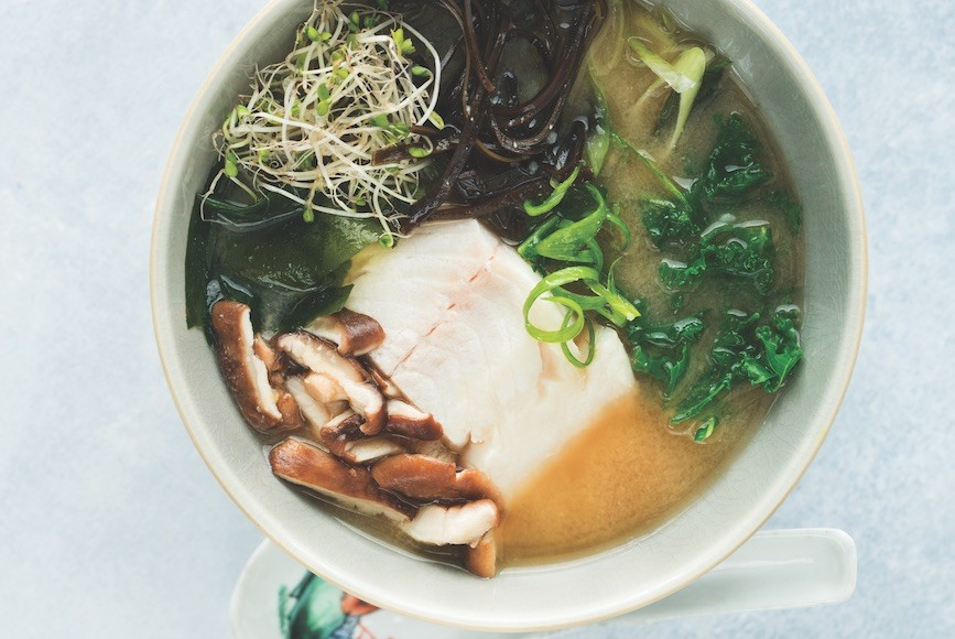 Thumbnail for This Easy Miso Soup Is Full of Hormone-Balancing Ingredients