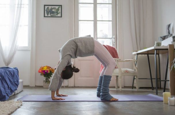 How to master your full wheel pose—AKA the queen of heart openers
