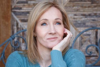 What J.K. Rowling does when she's feeling down