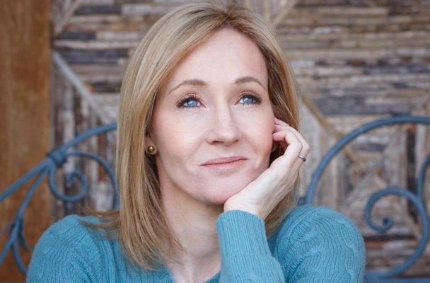 J.K. Rowling turns to this reading-related self-care practice when she's feeling down