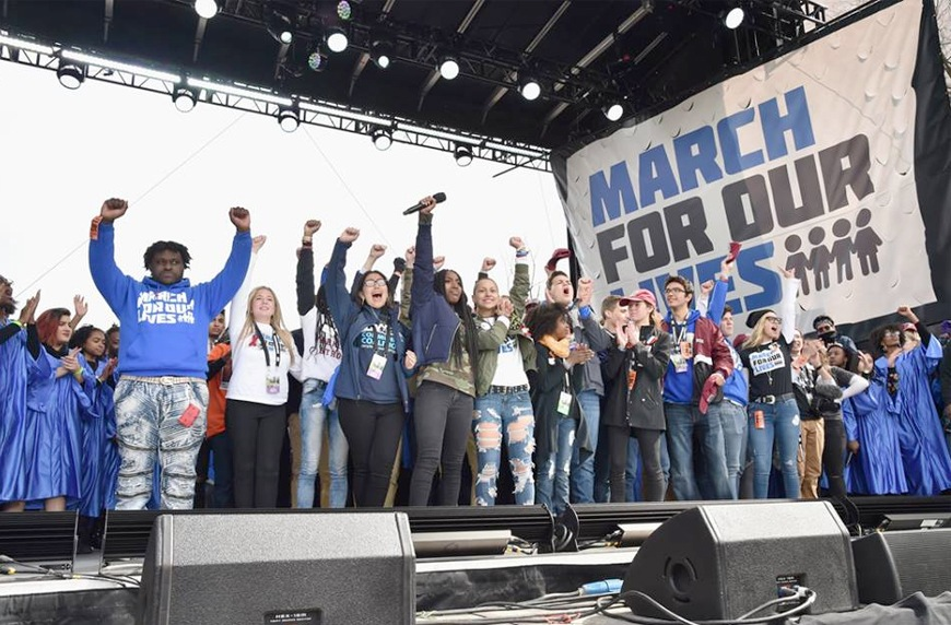 Thumbnail for This empowering musical anthem from students at March for Our Lives will inspire you to make a difference