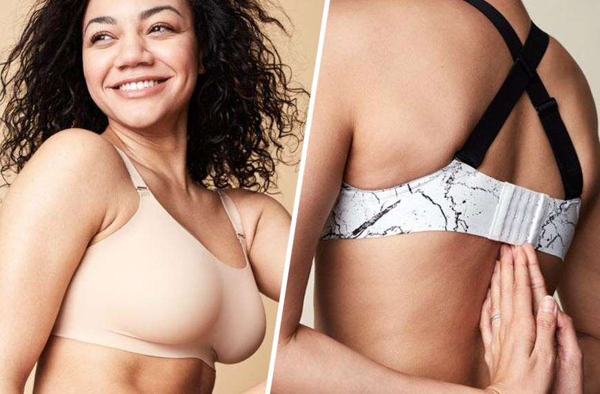 a637091640c9f Thumbnail for A bra brand beloved by women with D+ cups just released a new