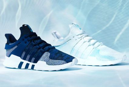 Adidas wants to use recycled plastic in *all* products by 2024