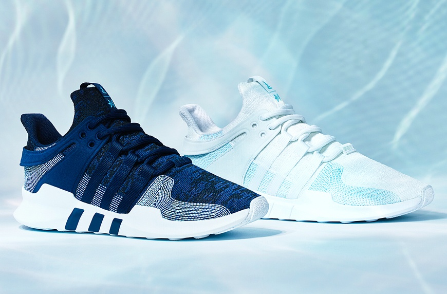 Thumbnail for Adidas wants to use recycled plastic in *all* products by 2024