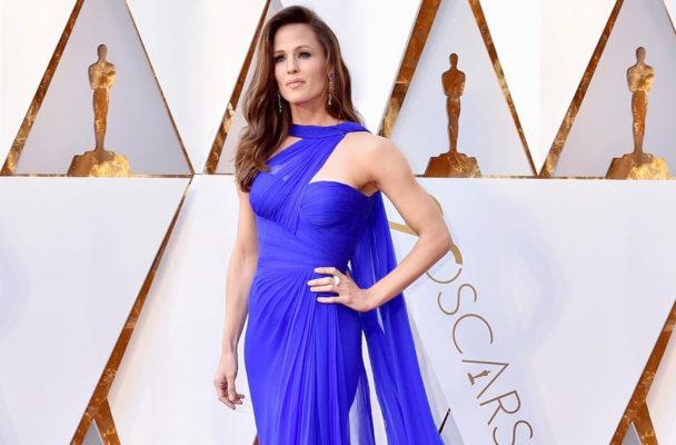 Thumbnail for Jennifer Garner's pre-Oscars workout involved an upbeat dance-cardio mix