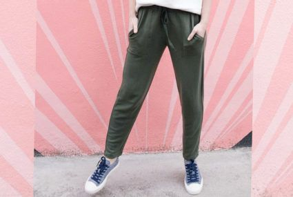6 comfy workleisure pants (AKA sweatpants, shhh) to ride the hygge wave into spring