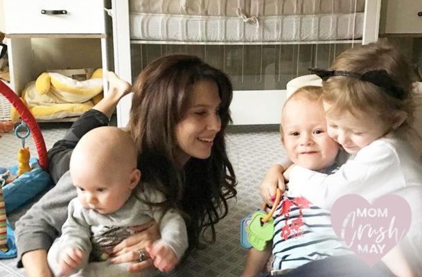 The genius way Hilaria Baldwin uses yoga techniques to conquer parenting challenges