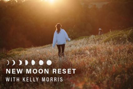 Ready for the new moon? Try this guided ritual outdoors for *extra* earth-mama magic