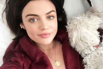 You'll never guess how many steps are in Lucy Hale's skin-care routine