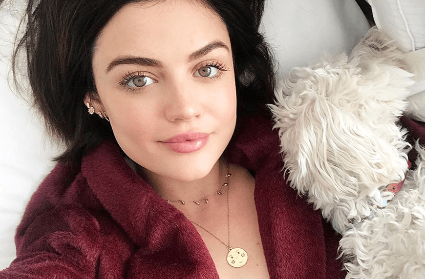 Thumbnail for You'll never guess how many steps are in Lucy Hale's skin-care routine