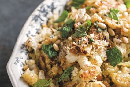 An Iron Chef shares her trick for making cauliflower a standout dinner dish