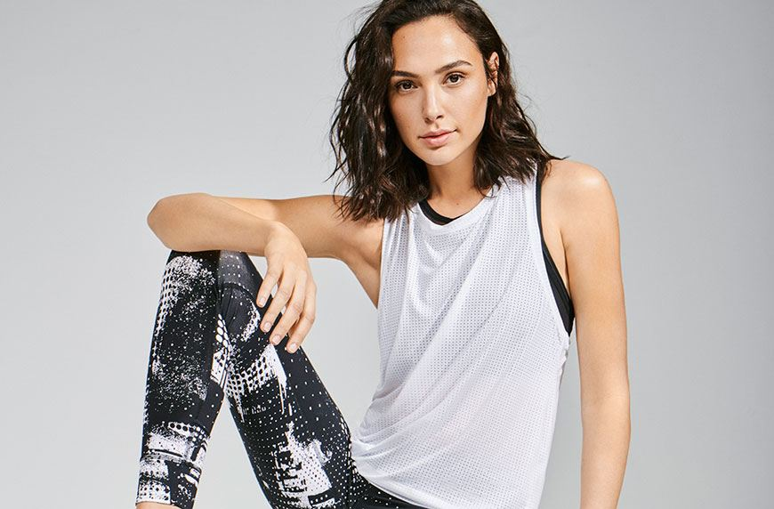Thumbnail for Gal Gadot is the latest celeb repping Reebok