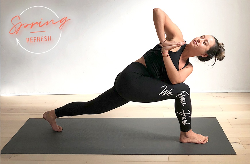 Thumbnail for Ready for a reset? Try these yoga poses to help detoxify your body