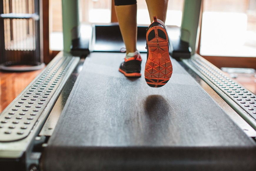 I tried the Studio treadmill running app | Well+Good