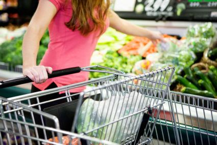 The gross reason to never put unwrapped or unbagged food in your shopping cart